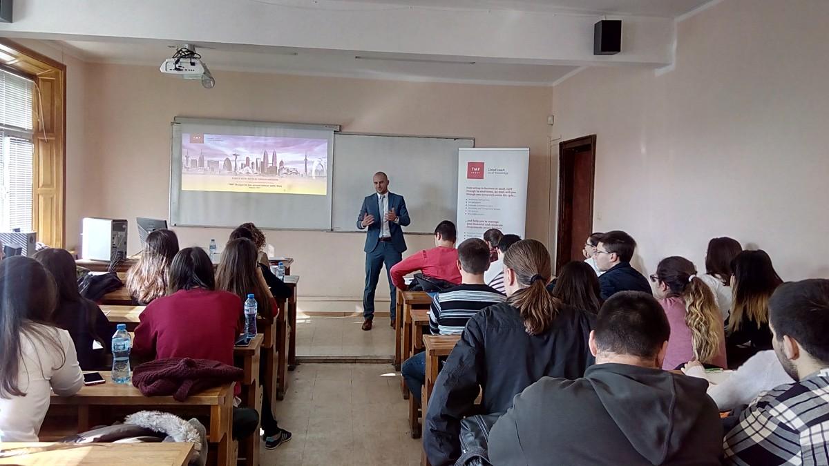 Гост-лекция на Стефан Димитров